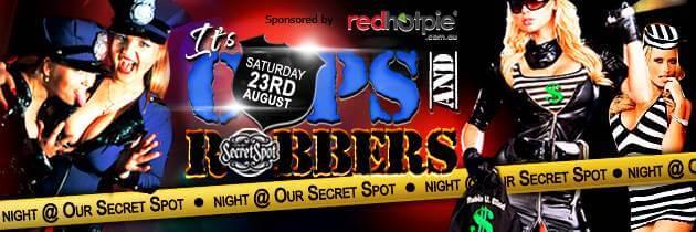 Sydney Swingers Club - Our Secret Spot - Themed Party